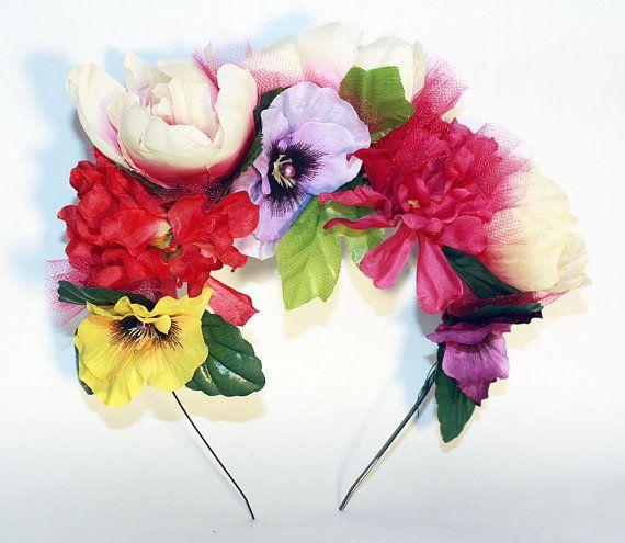 25 best Flower Crown images on Pinterest Parties Mexican fiesta