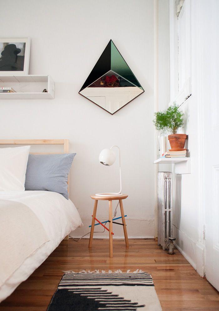 Old School Charm In A Brooklyn Railroad Apartment | Design*Sponge: