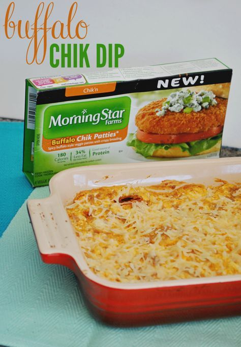 Back to School Book Club Party With Morningstar Farms® Buffalo Dip
