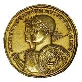 Constantine was the first Roman emperor to support Christianity and become Christian. From the time of Constantine, Christianity became an accepted Roman religion, with a temporary setback when his nephew Julian tried to reinstate the old Roman polytheistic beliefs, which we refer to as paganism.