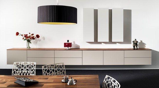 Dressoir 213-20 breedte 473 cm, zwevende design kast