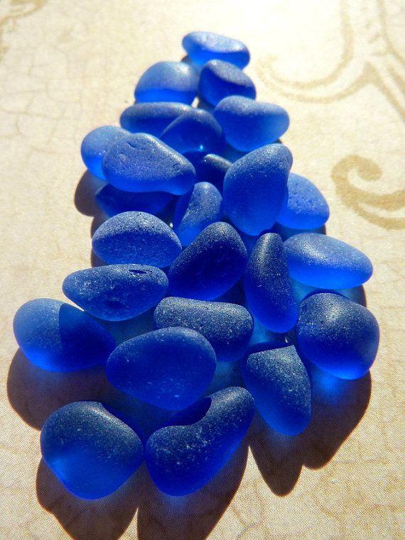 Cobalt Blue Sea Glass