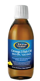Don't forget to get your fish oil in daily! Vitamin Shoppe Omega 3 Fish Oil 800 Epa / 500 Dha, 16.9 Fluid Ounces , Liquid  #vitaminshoppe #contest #fitnesspinspiration