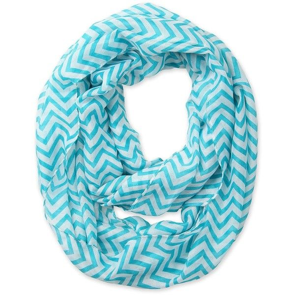 Corciova Soft Chevron Sheer Infinity Loop Scarf in Contrasting Colors... ($8.50) ❤ liked on Polyvore featuring accessories, scarves, chevron scarves, circle scarves, sheer scarves, circle scarf and infinity chevron scarves