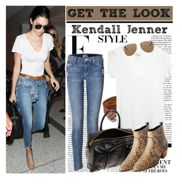 """Celeb Style: Kendall Jenner"" by ellize-back ❤ liked on Polyvore featuring moda, Nicki Minaj, Mother, American Eagle Outfitters, Givenchy y Yves Saint Laurent"
