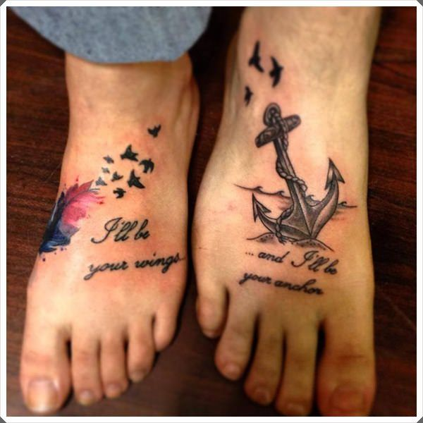 Best Father Daughter Tattoos Ideas On Pinterest Dad Tattoos - 20 beautiful matching tattoo designs that symbolise a couples loving bond