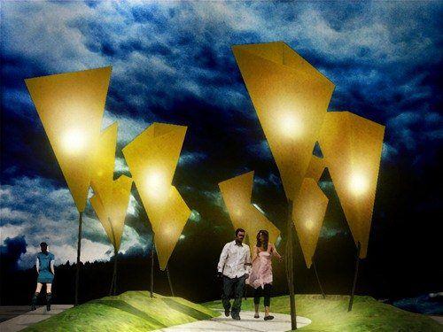 Contemporary art installation / Gianluca Nicolini architect
