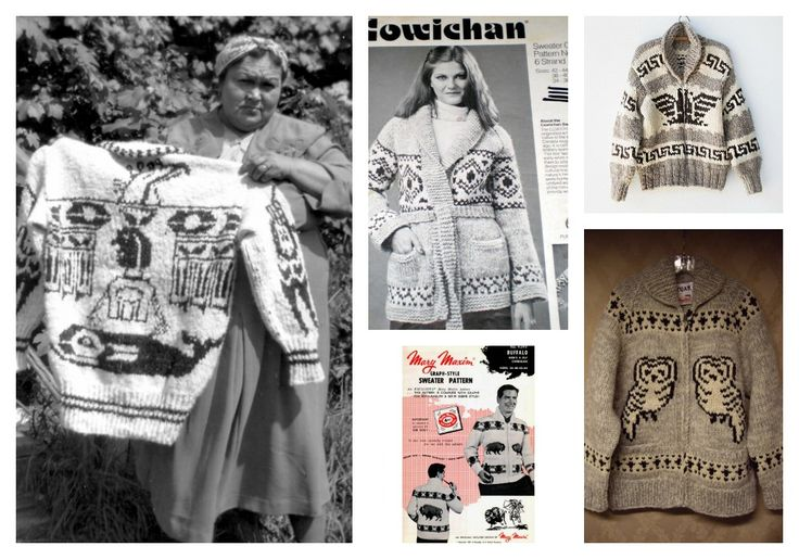 Learn all about the history of Cowichan sweaters (and score some free patterns) in this post by @iamvickiehowell