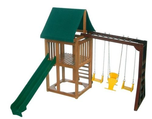 17 best ideas about swing and slide on pinterest swing for Mini swing set