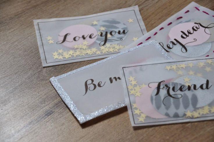 #164 DIY: Des cartes surprises pour dire je t'aime.   amelie's workshop