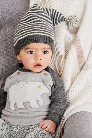 Kaufen Sie Grey Bear Long Sleeve Sweat (0 Monate bis 2 Jahre) heute online bei Next: Deutschland