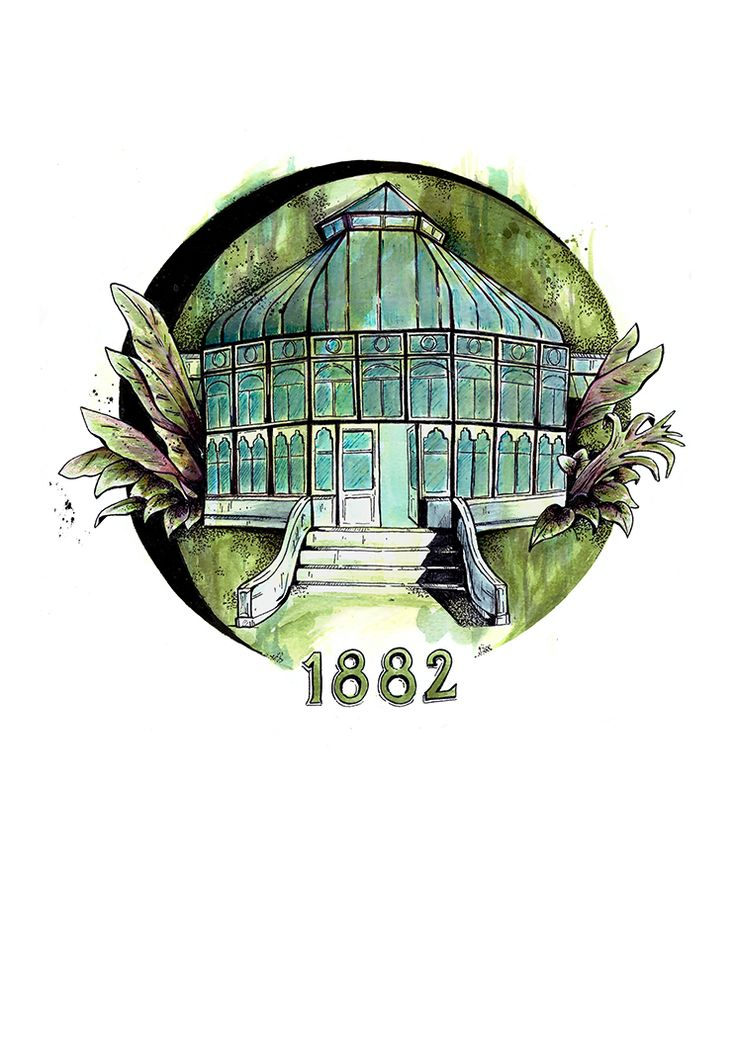 The Pearson Conservatory in Port Elizabeth, South Africa; one of my favourite spots for a lunch break around the center of town.   It's located in St. Georges Park and was officially opened in 1882, named after the Mayor of the town at that time, Mr H W Pearson.  The original drawing is done with a mix of pen and drawing inks. Unframed, digital prints available on A4, 185 gsm archival paper, and is limited to 30 signed and numbered prints.