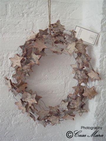 Riviera Maison, bark star wreath