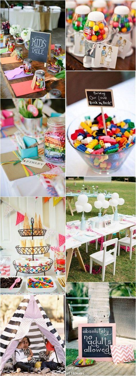 20 kreative Must See Hochzeitsideen für Kinder / www.deerpearlflow … #weddingideas …   – Wedding Stuff