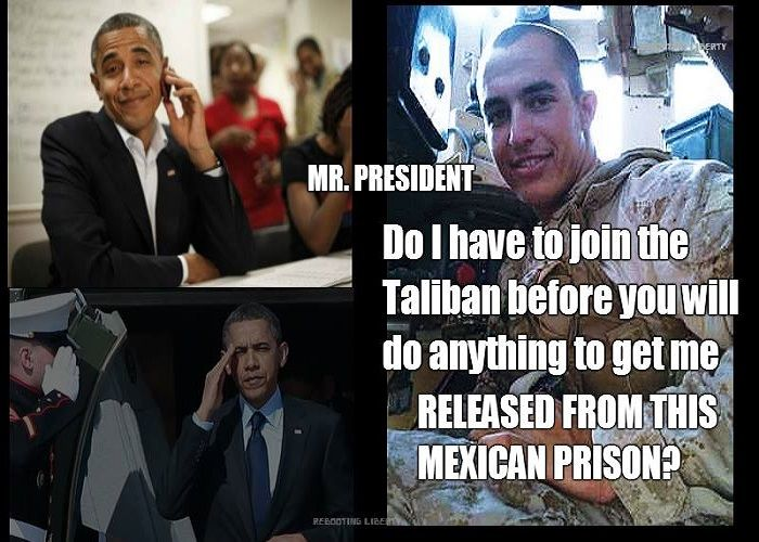 The White House will do nothing to help Sgt. Tahmooressi. The Obama administration issued a..