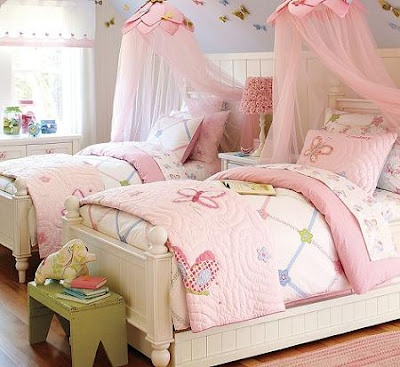 Habitacion para niñas doble