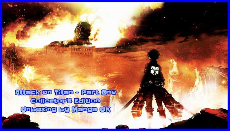 Attack on Titan - Part One Collector's Edition [BD UK] * Ieri è stato caricato sul canale YouTube di Manga UK il video unboxing del primo volume britannico di Attack on Titan, pubblicato dallo stesso editore in tre differenti release; DVD e Blu-ray in edizione amaray [...]