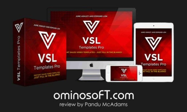 VSL TEMPLATES PRO is a brand new video graphics bundle created by Edmund Loh and June Ashley. It is a collection of 15 professionally designed Powerpoint themes, created to help you create high converting sales videos on the fly, and in minutes. This templates for sure will help you to producing your own sales video, even you don't know the formula or don't know how to make the video. The templates are animated, highly-customizable designs and graphics.