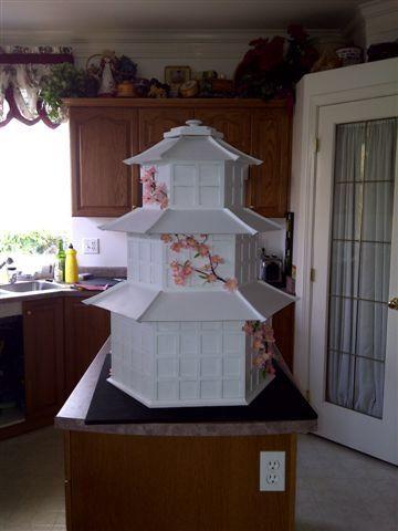 Wedding pagoda money box