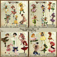 G & T DESIGNS CU FLOWER CHILDREN BUNDLE