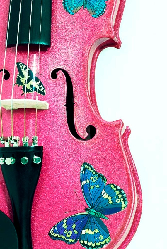 Butterfly Dream Fuchsia Violin Outfit