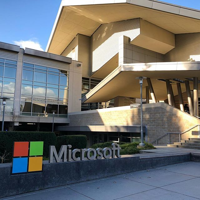 While not woodworking, I always love coming to Microsoft HQ. Nice to see the road map from a corporate perspective. Beautiful campus as well, they definitely like White Oak ;)