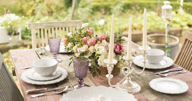 De romantische tafel