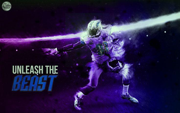 Calvin johnson : unleash the beast Wallpaper by rOnAn-Ncy.deviantart.com on @DeviantArt