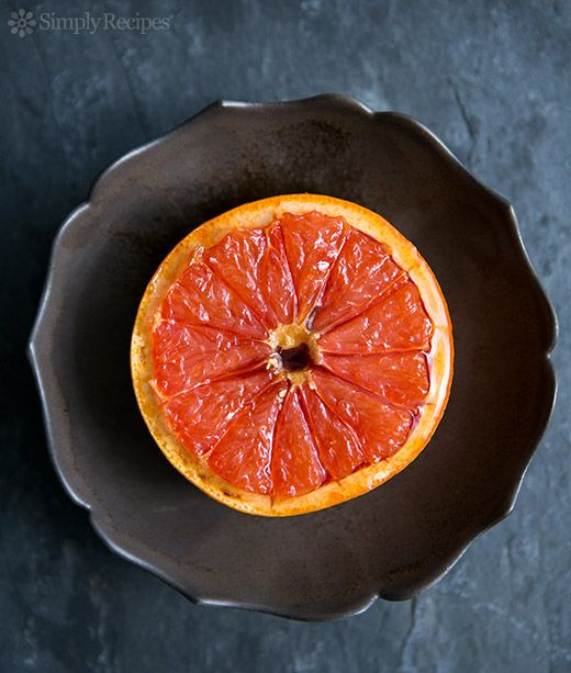 Broiled Grapefruit by simplyrecipes #Grapefruit #Healthy