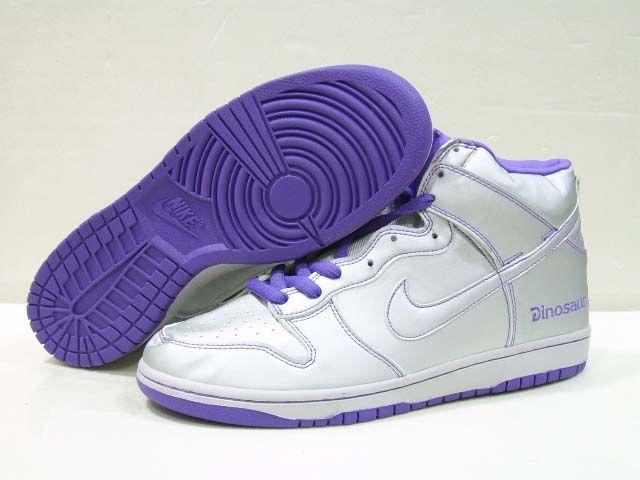 check out 7cf97 eac93 ... shoes metallic silver white hzxu8 84503 3719d  best price nike dunk  high womens premium sb womens dinosaur jr silver purple 8315b 4ba37