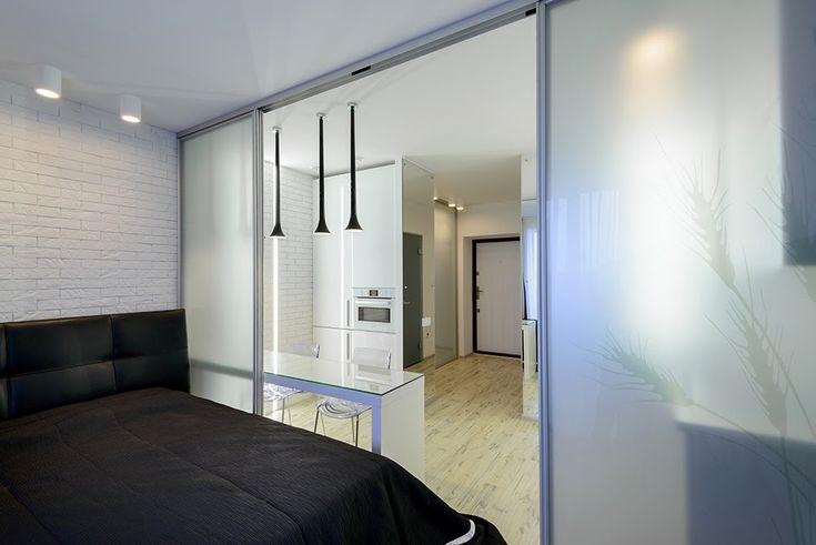 Дизайн однокомнатной квартиры: Маленькая квартира для холостяка, 29 квм