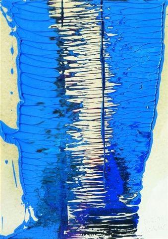 Gerhard Richter » Art » Oil on Paper » Untitled (21.2.94)