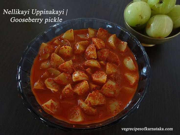 Instant nellikayi or gooseberry pickle recipe with step by step pictures. This is an instant, healthy and easy pickle recipe from gooseberry.