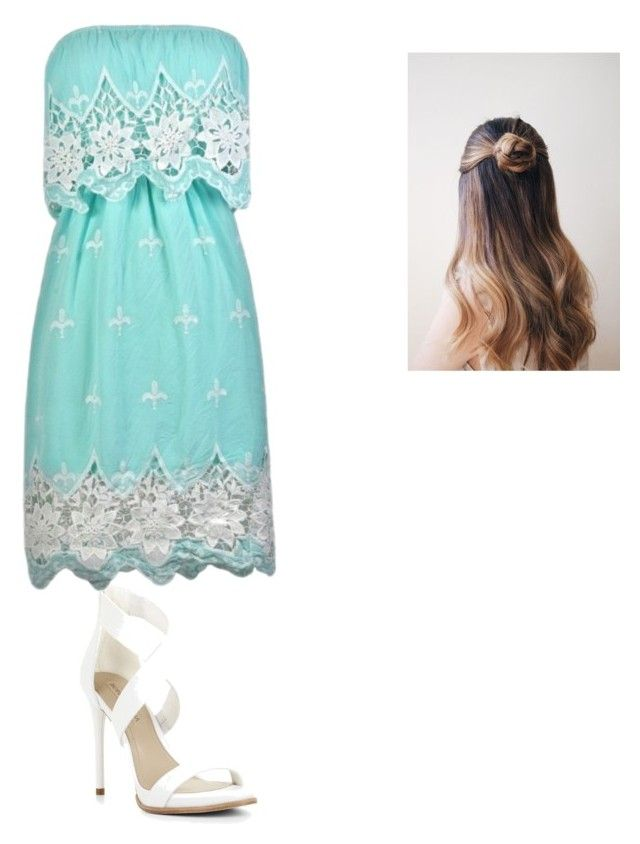 Dress by izzynunez07 on Polyvore featuring polyvore, BCBGMAXAZRIA, fashion, style and clothing