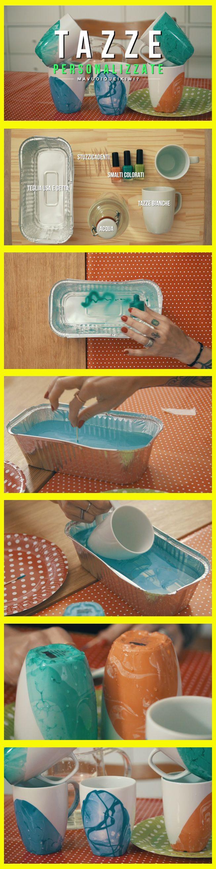 Avevate mai pensato di decorare così le vostre tazze? Guardate come hanno fatto su www.rsi.ch/kiwi ;)