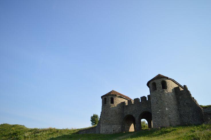 Porta Praetoria, the reconstructed gateway of the Porolissum castrum, Moigrad, Sălaj County