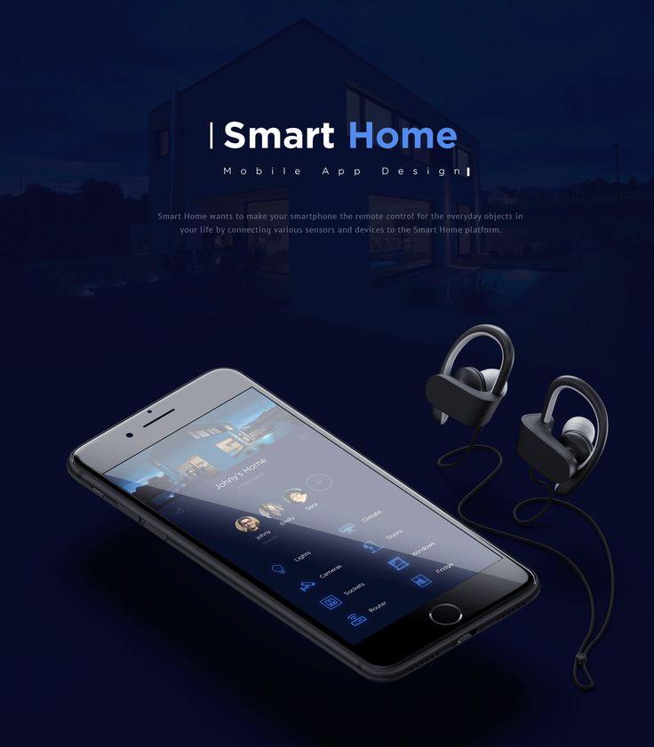 Smart Home App by Imran Khan #ui #ux #interaction #design