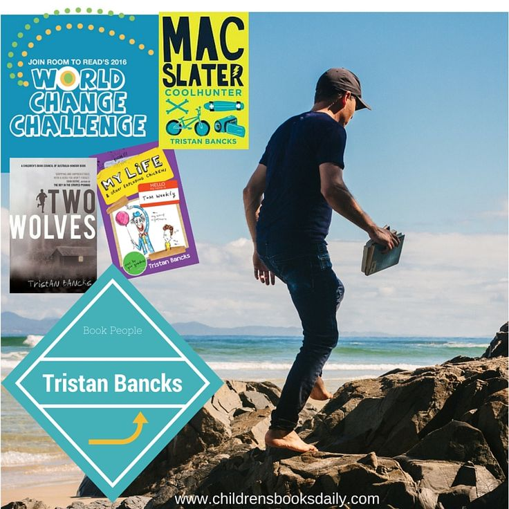 Book People Tristan Bancks  Children's books daily
