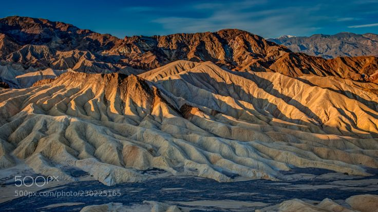 Zabriskie Point Sunrise by richardpatti