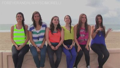 #Cimorelli #Sisters #Band #Christina #Katherine #Lisa #Amy #Lauren and #Dani I love Amy's outfit! And Kathrine's!!!