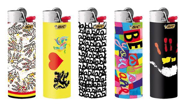Bic Lighters Designed By Belgian Designer Delphine Bo 235 L