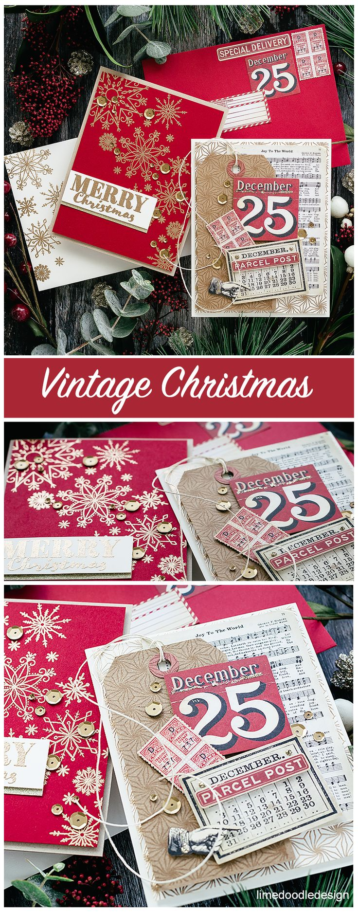 simon says stamp limited edition holiday card kit  card