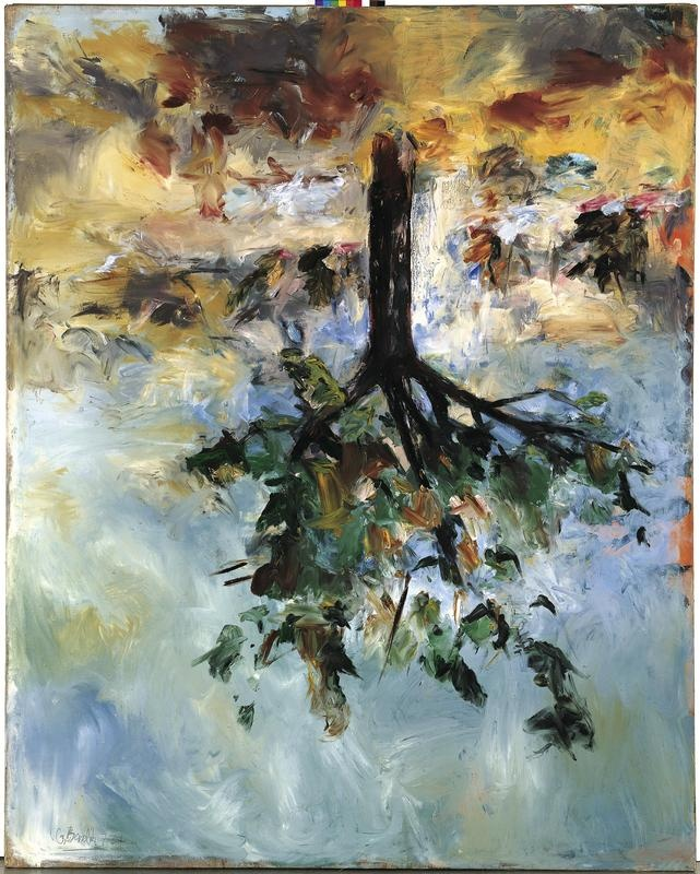 Finger Painting Artist Landscapes