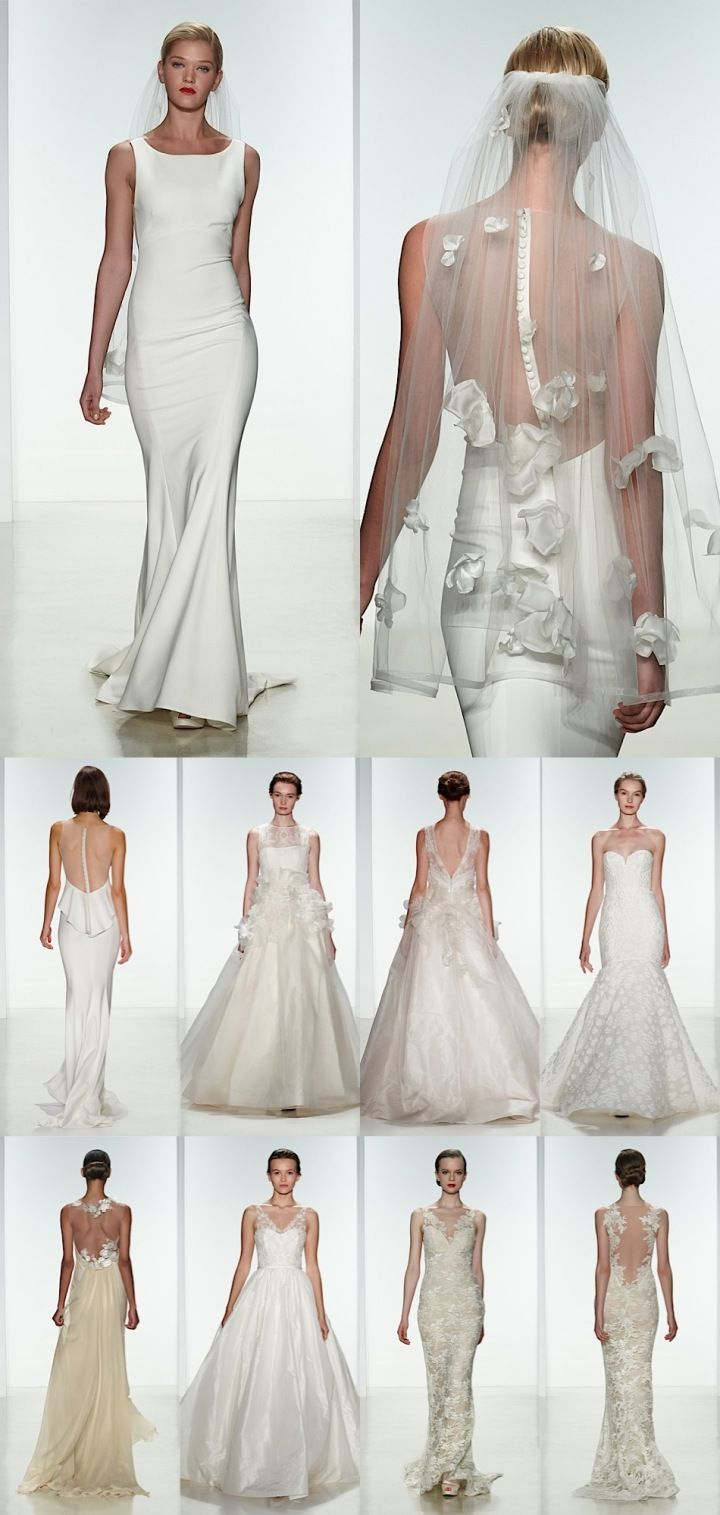 Sophisticated Amsale Wedding Dresses 2015 Collection