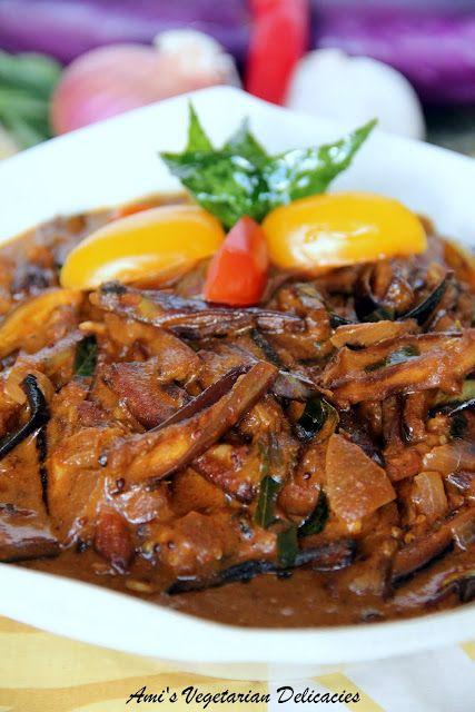 Sri Lankan eggplant curry