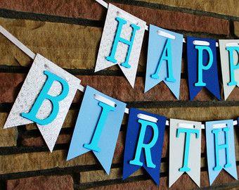 Banner de feliz cumpleaños feliz cumpleaños por CreationsByRosieLou