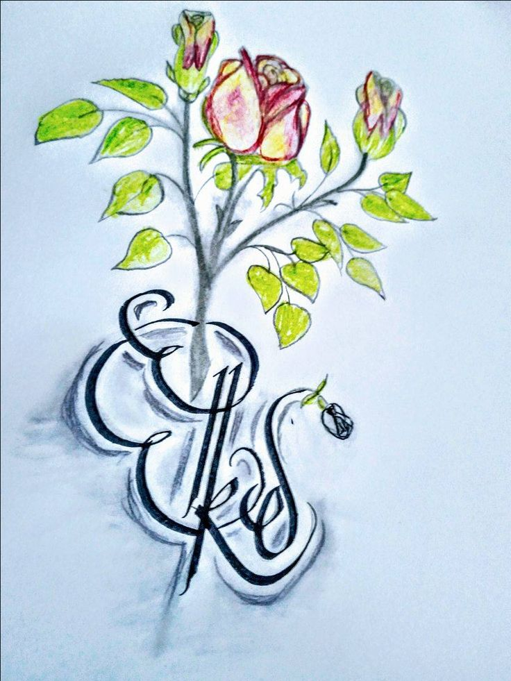 Thank you very much, my dear friend S. Erarslan for your gift - a wonderful rose with my name Elke