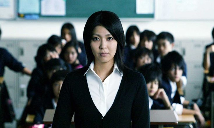 Yuko Moriguchi from Confessions (2010) | She starts as a very low-key teacher but then turns into one bad bitch. I mean it, as a compliment. Her story couldn't be more unfortunate: her fiancé learns that he has contracted HIV which lead them to call off their wedding. Later on, her daughter Manami is a victim of a really vile crime. As you might have guessed, she went a little bit crazy after this...