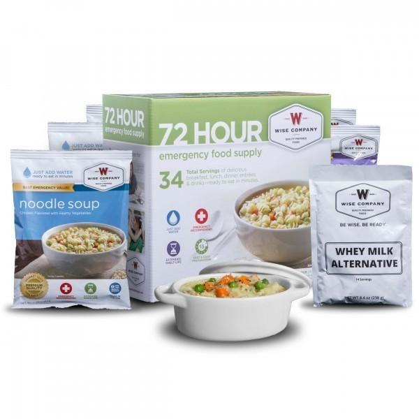 Wise Food-72 Hour Emergency Food Supply