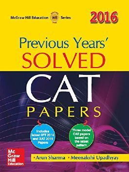 Buy Previous Years' Solved CAT Papers